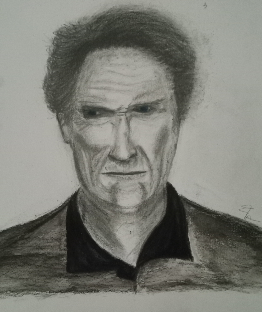 Clint Eastwood by frank19